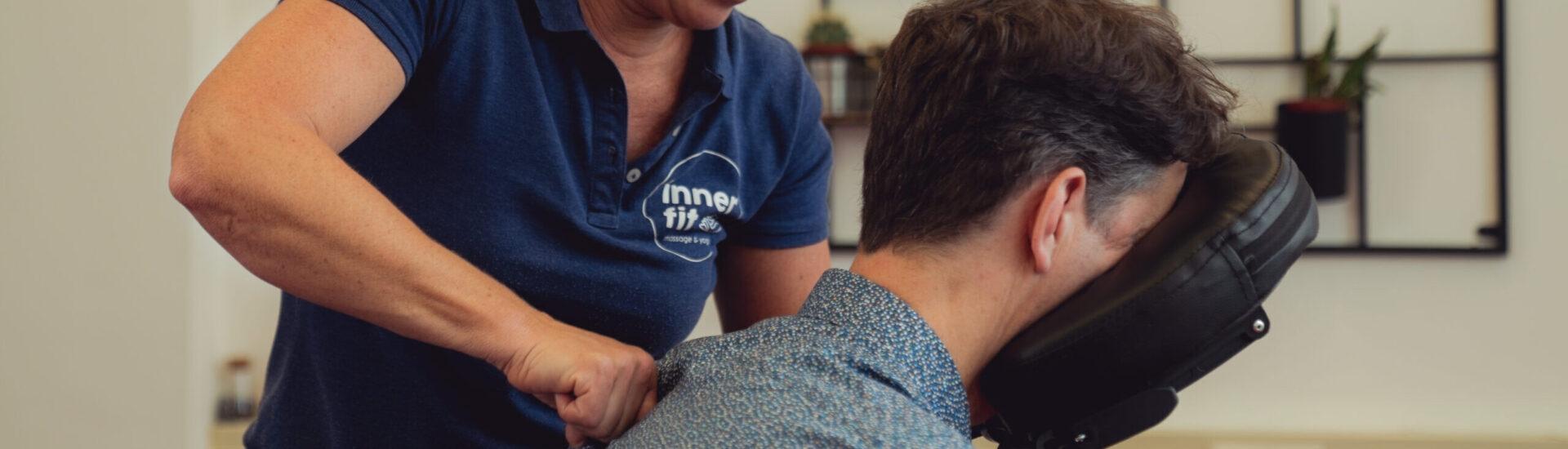 Stoelmassage voor bedrijven
